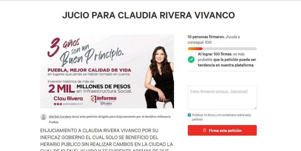 Claudia Rivera